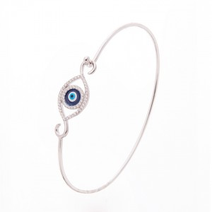 925 Sterling Silver Greek Evil Eye bracelet