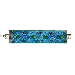 Island Blue Bead Bracelet