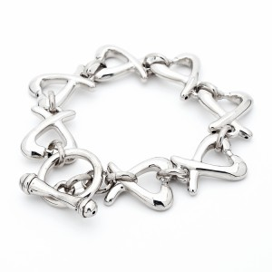 Hugs and Kisses 925 Sterling Silver bracelet