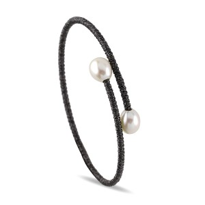 Wrist Wrap Single Pearl Cuff