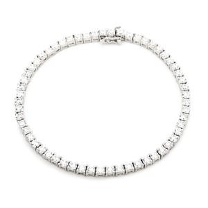 925 Sterling Silver tennis bracelet