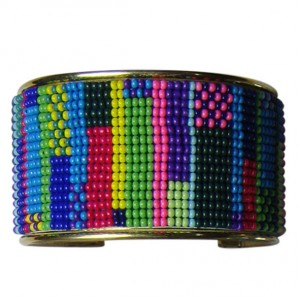 Ayres Rock Beaded Cuff