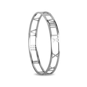 Sterling Silver Roman Numeral bracelet
