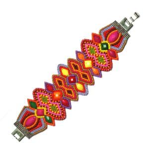 Summer Sky Bead Bracelet