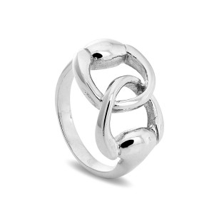 Silver Horse Bridle Ring